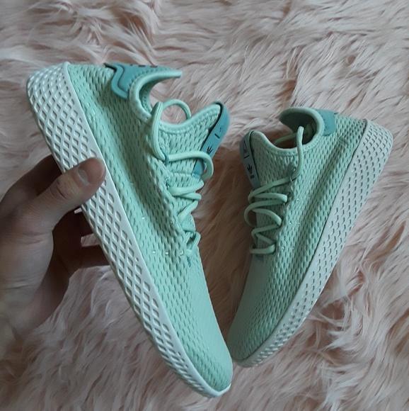 df90ba3a0 PW Adidas Tennis HU Shoes Kids Size Womens Shoes
